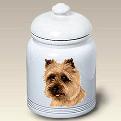 Cairn Terrier Treat Jar