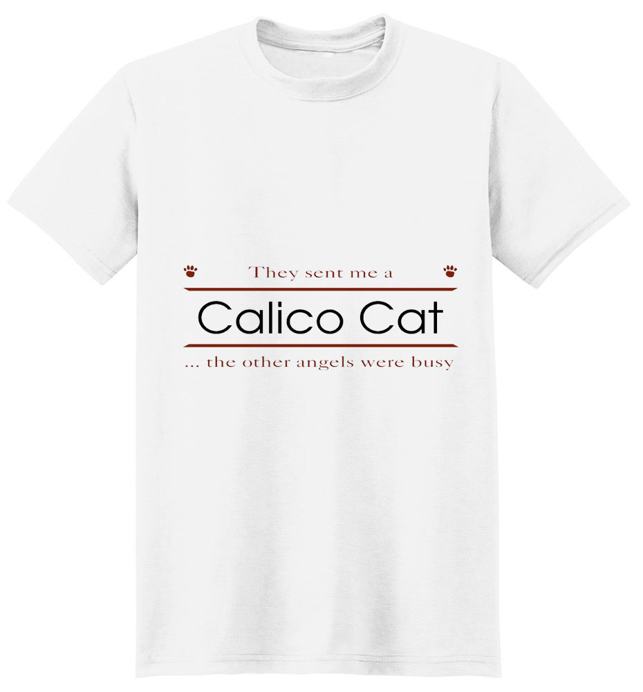 Calico Cat T-Shirt - Other Angels