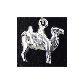Camel Sterling Silver Charm