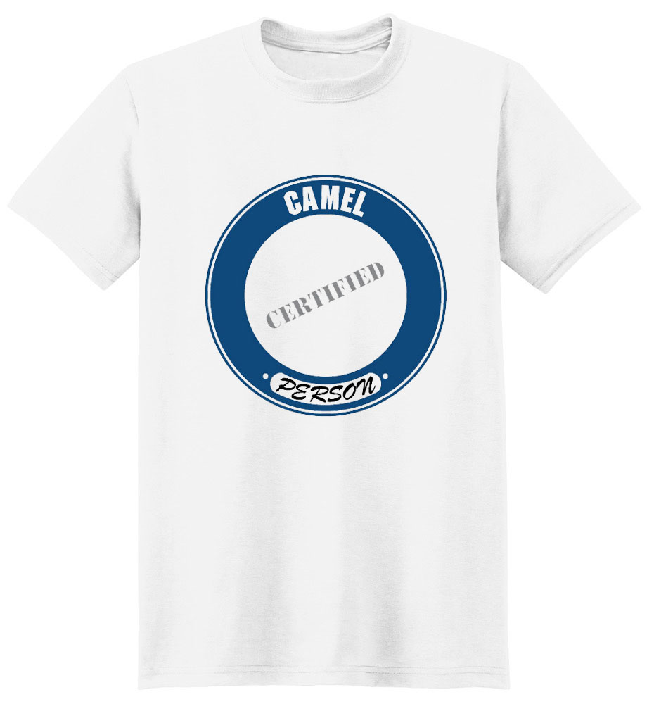 Camel T-Shirt - Certified Person
