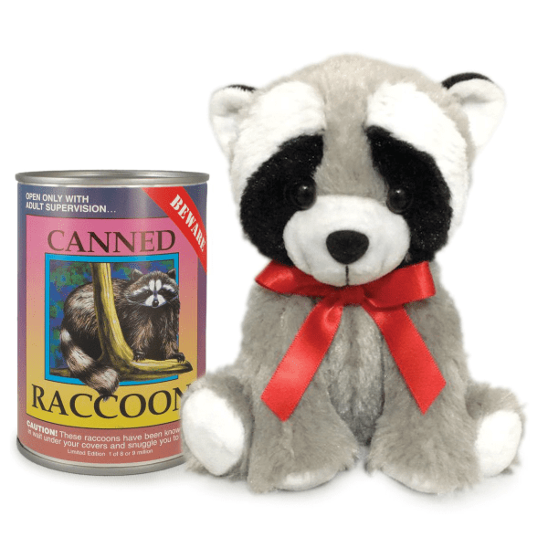 Canned Critter's Raccoon 6