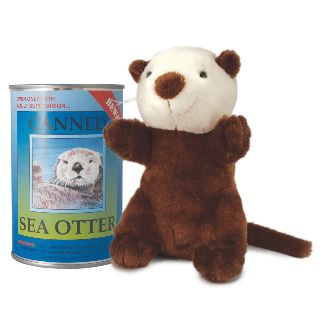 Canned Critter's Sea Otter 6