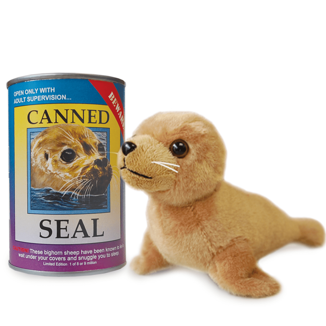 Canned Critter's Seal 6