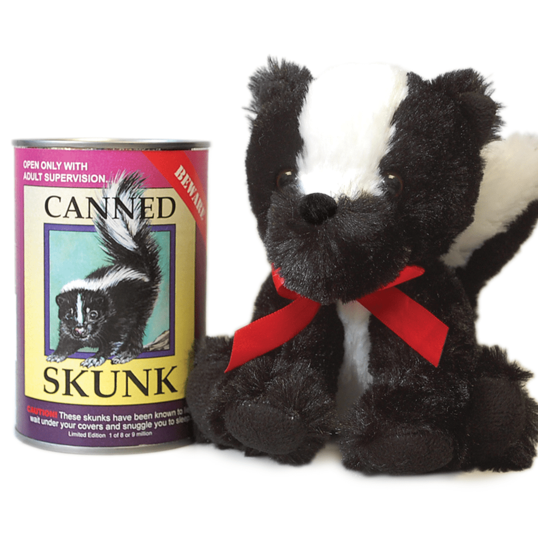 Canned Critter's Skunk  6