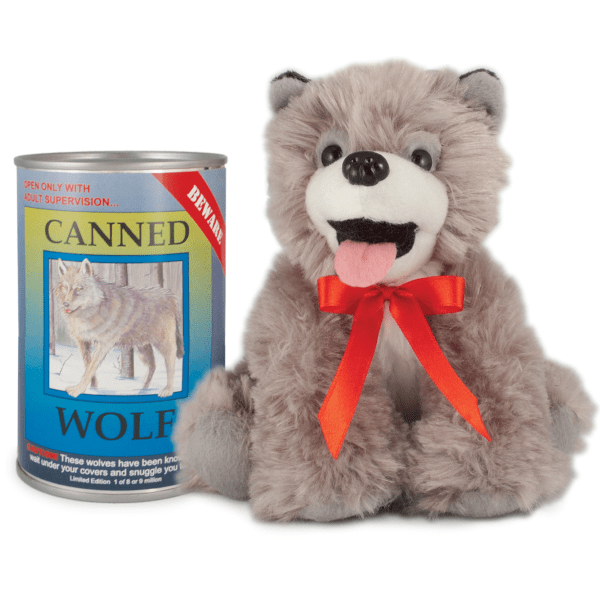 Canned Critter's Wolf 6