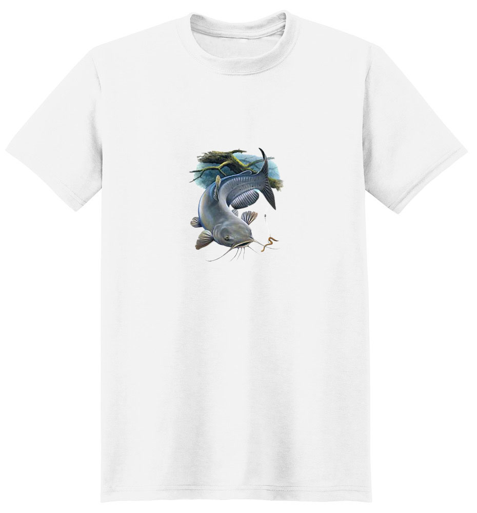 Catfish T-Shirt - Ready to Strike