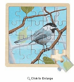 Wild Republic Chickadee Puzzle