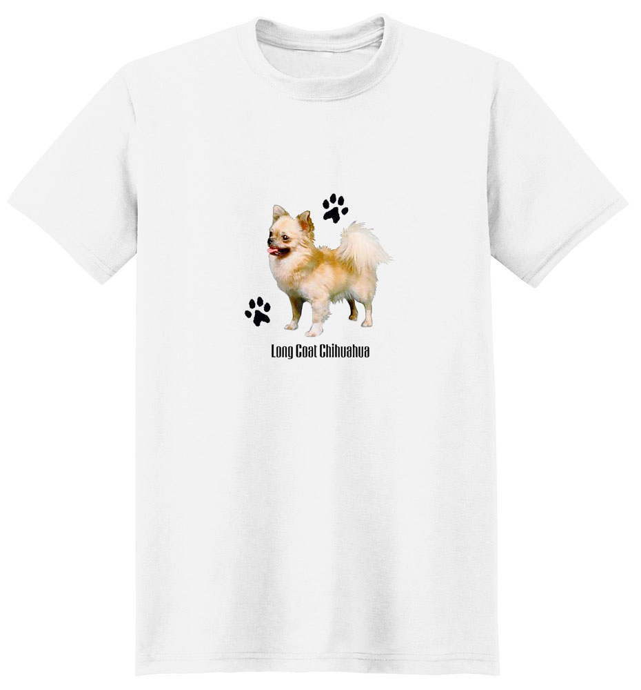 Chihuahua T-Shirt - Stylin With Paws Long Haired