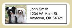 Chinese Crested Address Labels