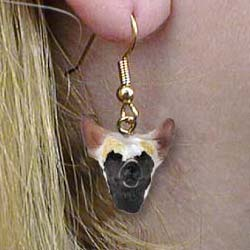 Chinese Crested Authentic Earrings