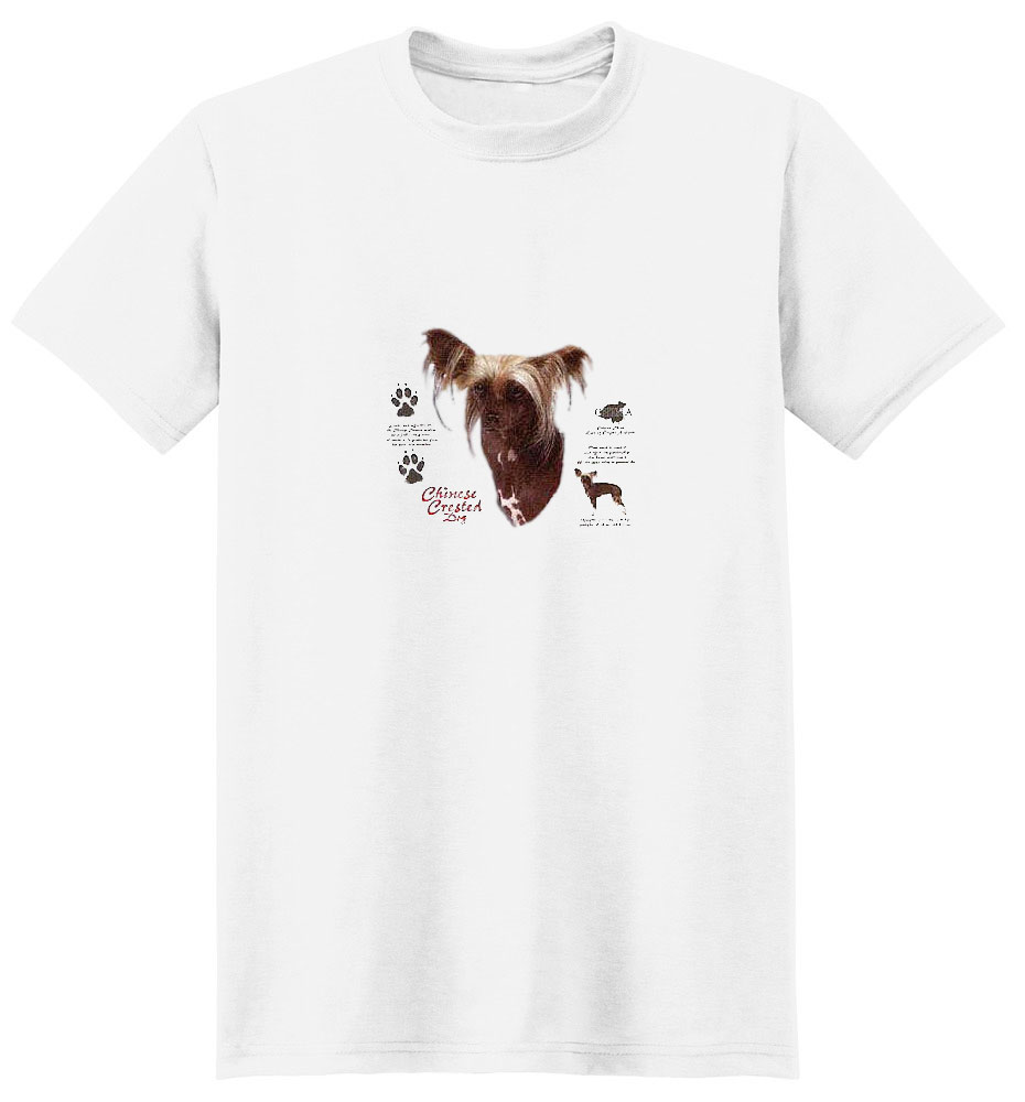 Chinese Crested T-Shirt - History Collection
