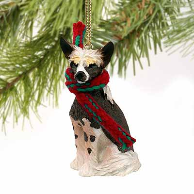 Chinese Crested Tiny One Christmas Ornament