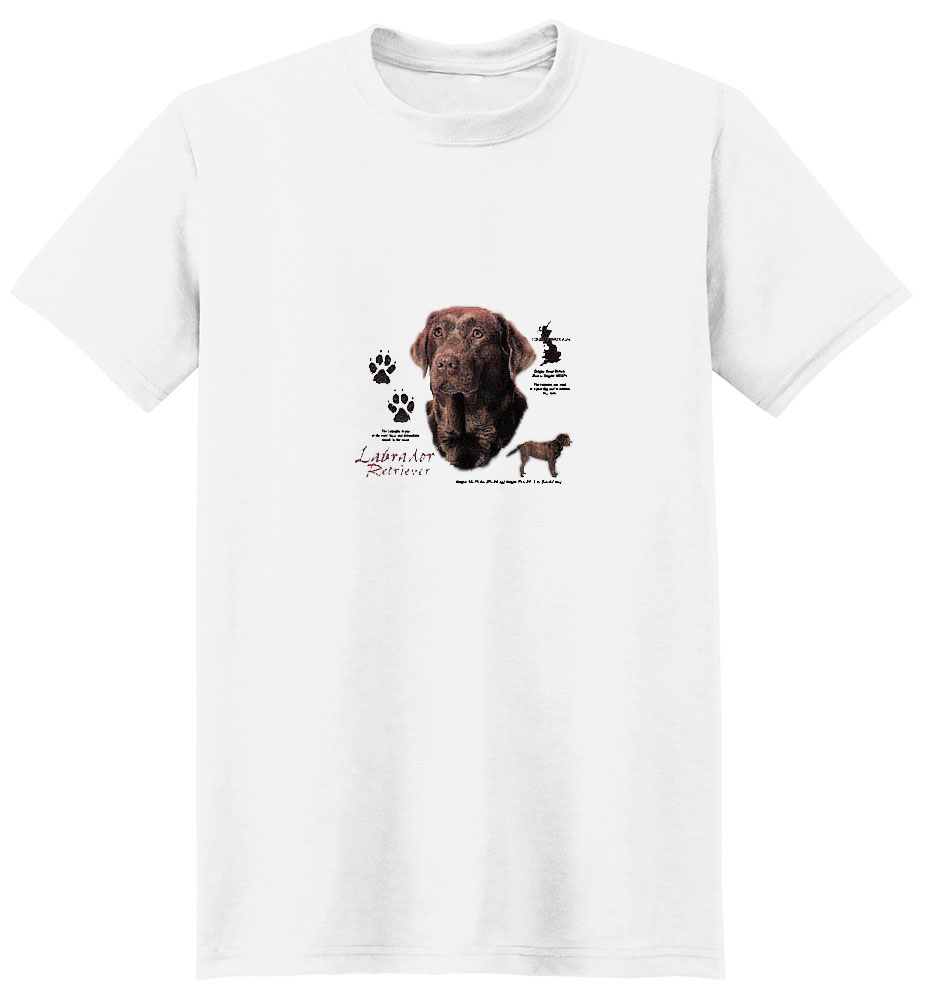 Chocolate Lab T-Shirt - History Collection