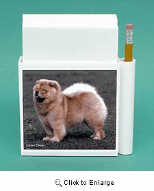 Chow Chow Hold-a-Note