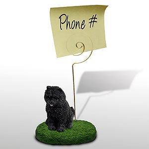 Chow Chow Note Holder (Black)