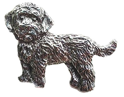 Cockapoo Pewter Pin