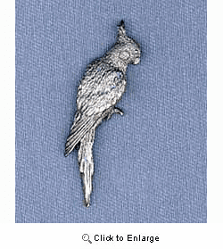 Cockatiel Pin