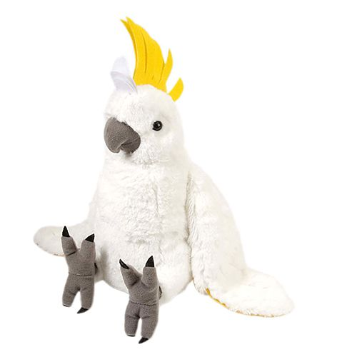 Cockatoo Cuddlekins Plush Animal 14
