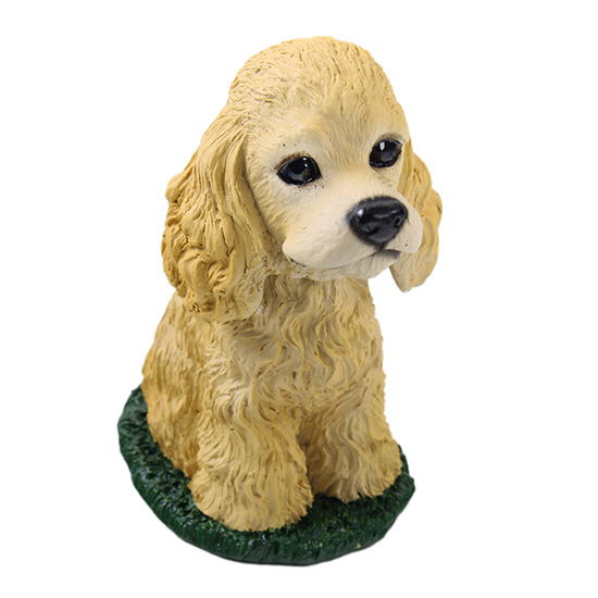 Cocker Spaniel Bobblehead Blonde