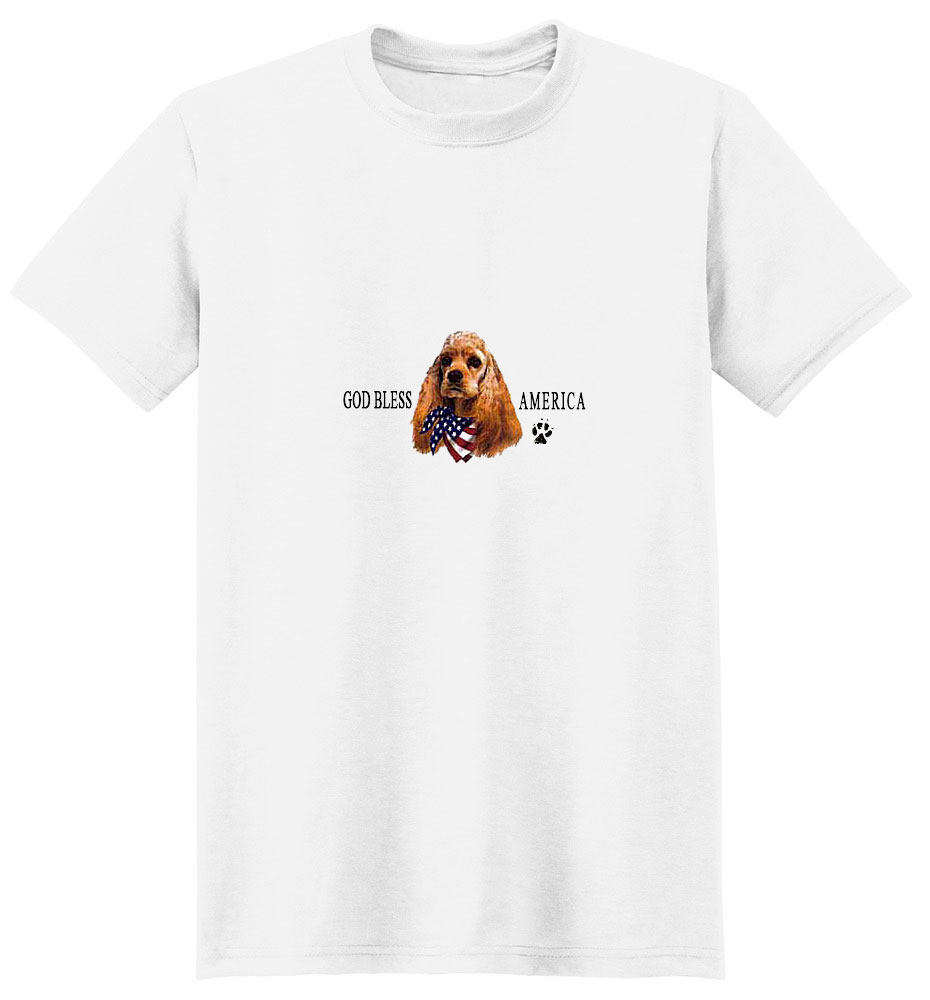 Cocker Spaniel T-Shirt - American Dog
