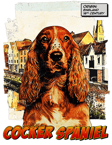 Cocker Spaniel T-Shirt Ancestry