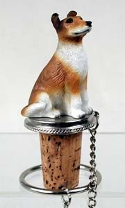 Collie Bottle Stopper (Smooth Hair)