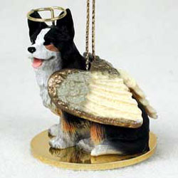 Corgi Christmas Ornament Angel