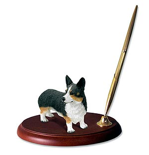 Corgi Pen Holder