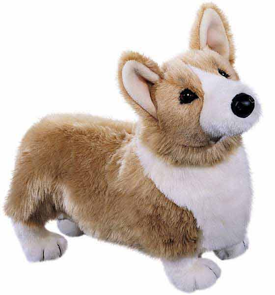 Corgi Plush Stuffed Animal 16 Inch