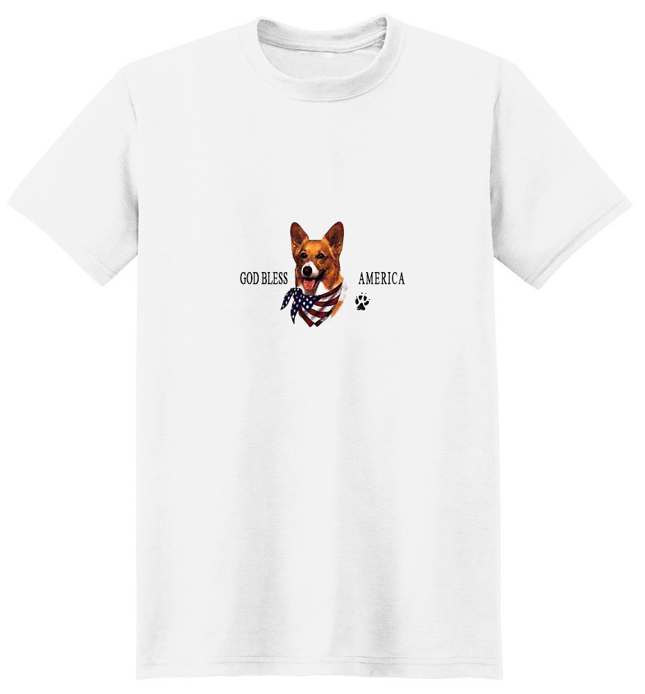 Corgi T-Shirt - American Dog