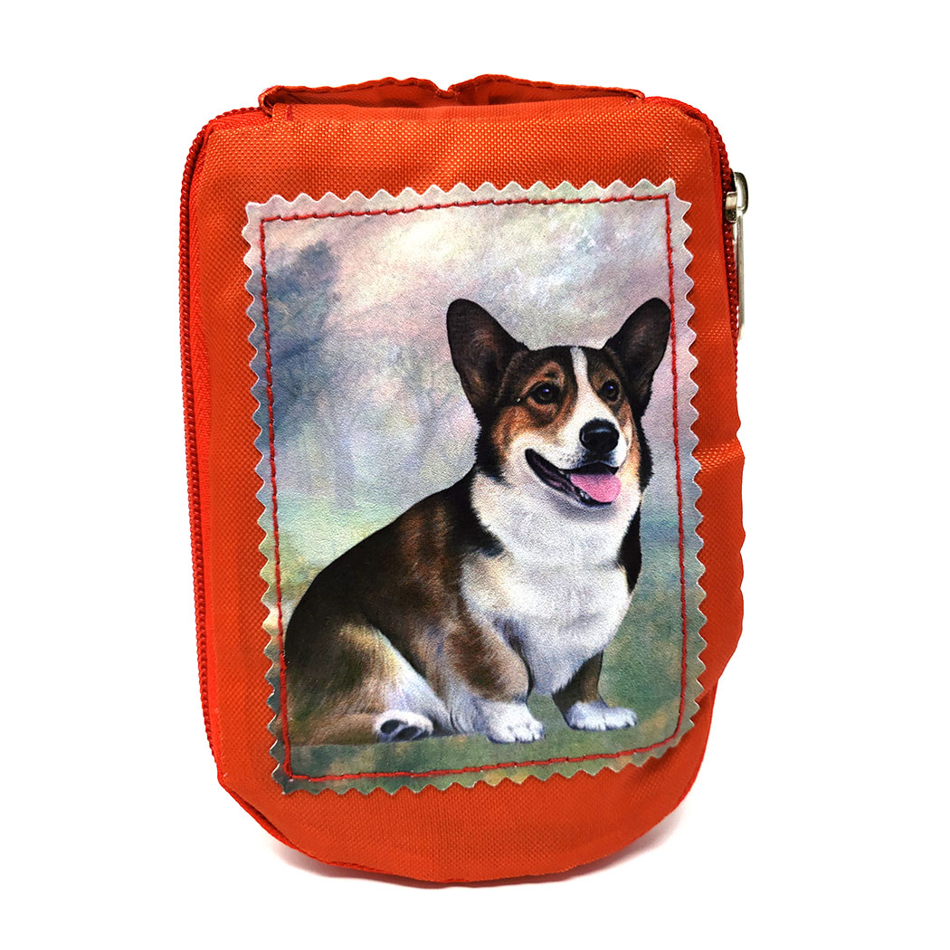 Corgi Tote Bag - Foldable to Pouch