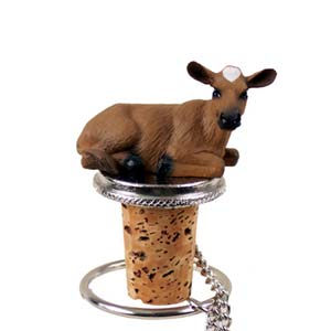 Cow Bottle Stopper (Guernsey)