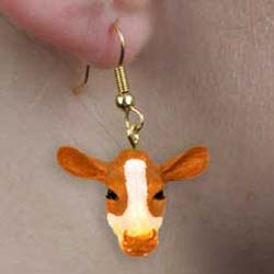 Cow Authentic Earrings