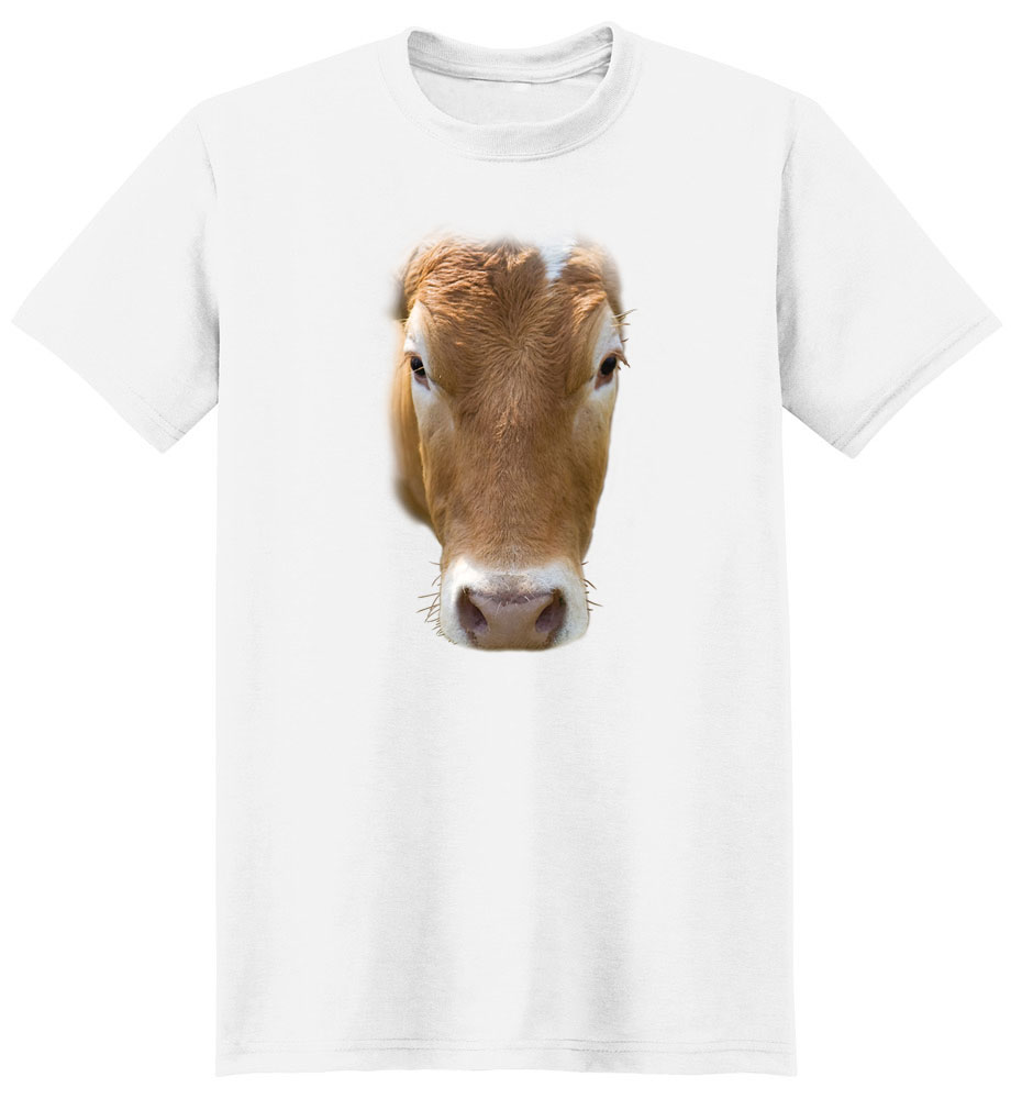Cow T Shirt Full Face