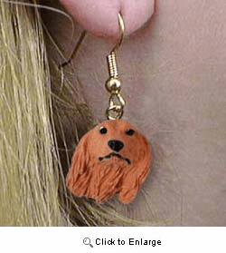 Dachshund Authentic Earrings