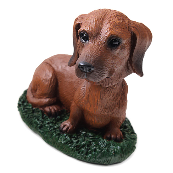 Dachshund Bobblehead Red