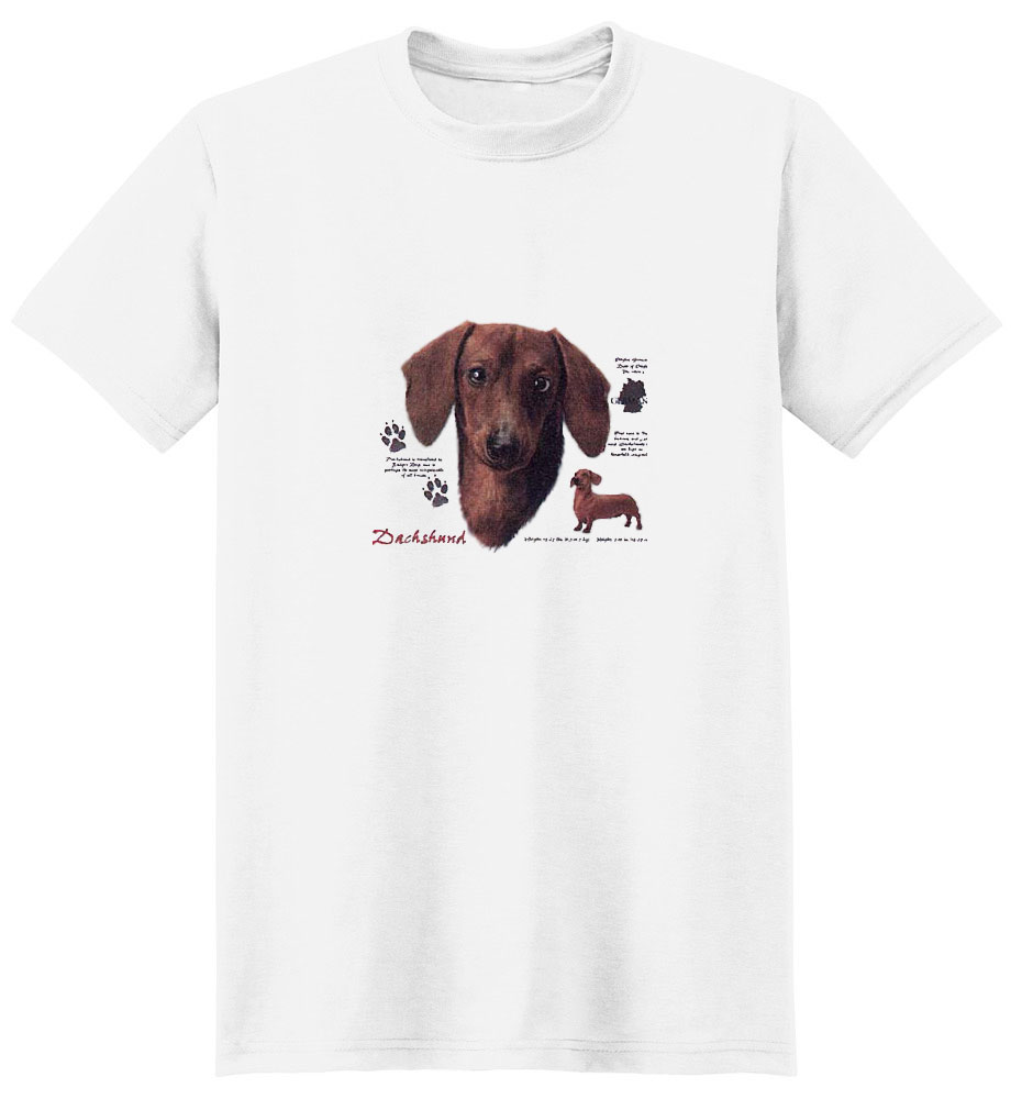 Dachshund T-Shirt - History Collection