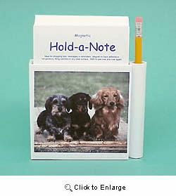 Dachshunds Hold-a-Note