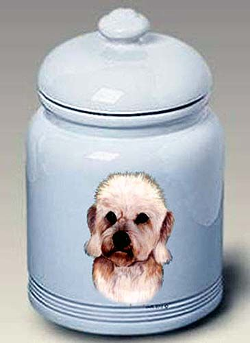 Dandie Dinmont Cookie Jar