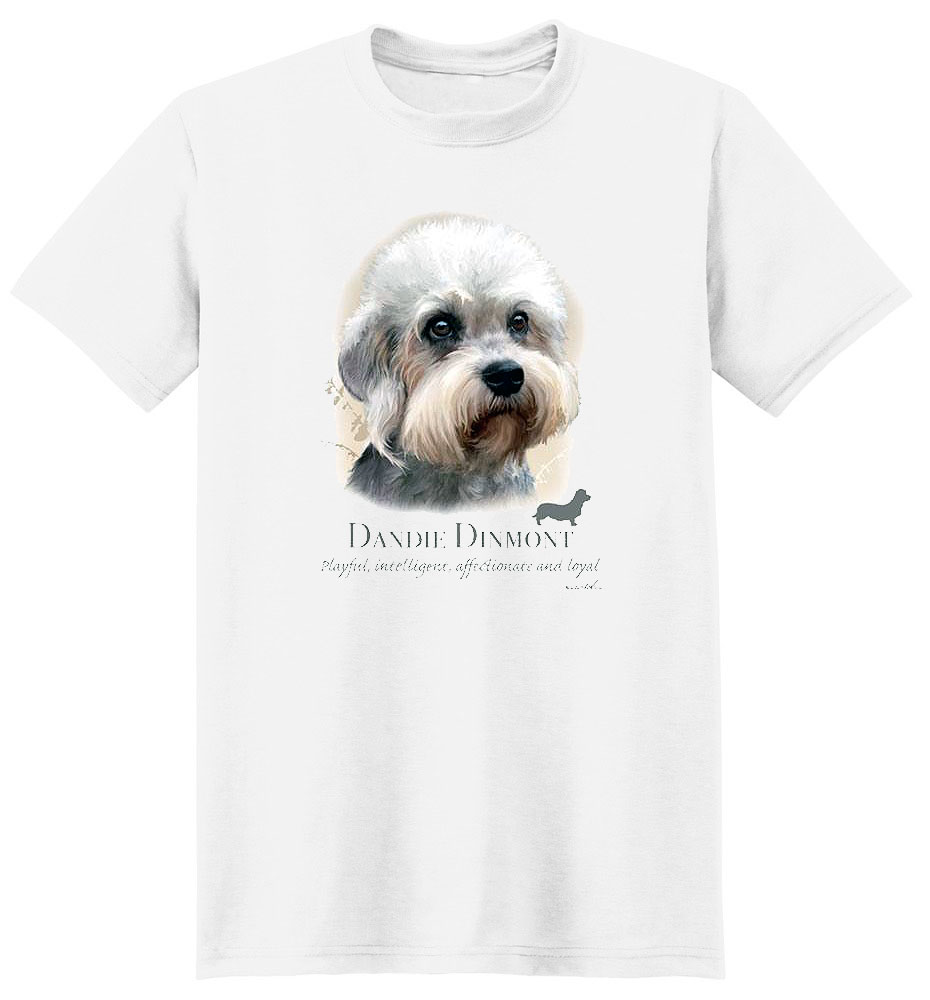Dandie Dinmont T Shirt by Howard Robinson
