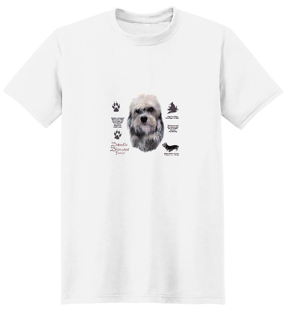 Dandie Dinmont T-Shirt - History Collection