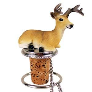 Deer Bottle Stopper (Buck)