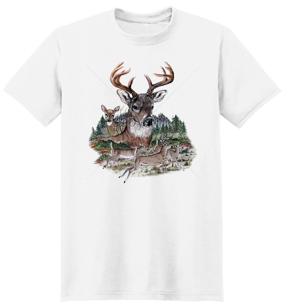 Deer T Shirt King Of The Herd