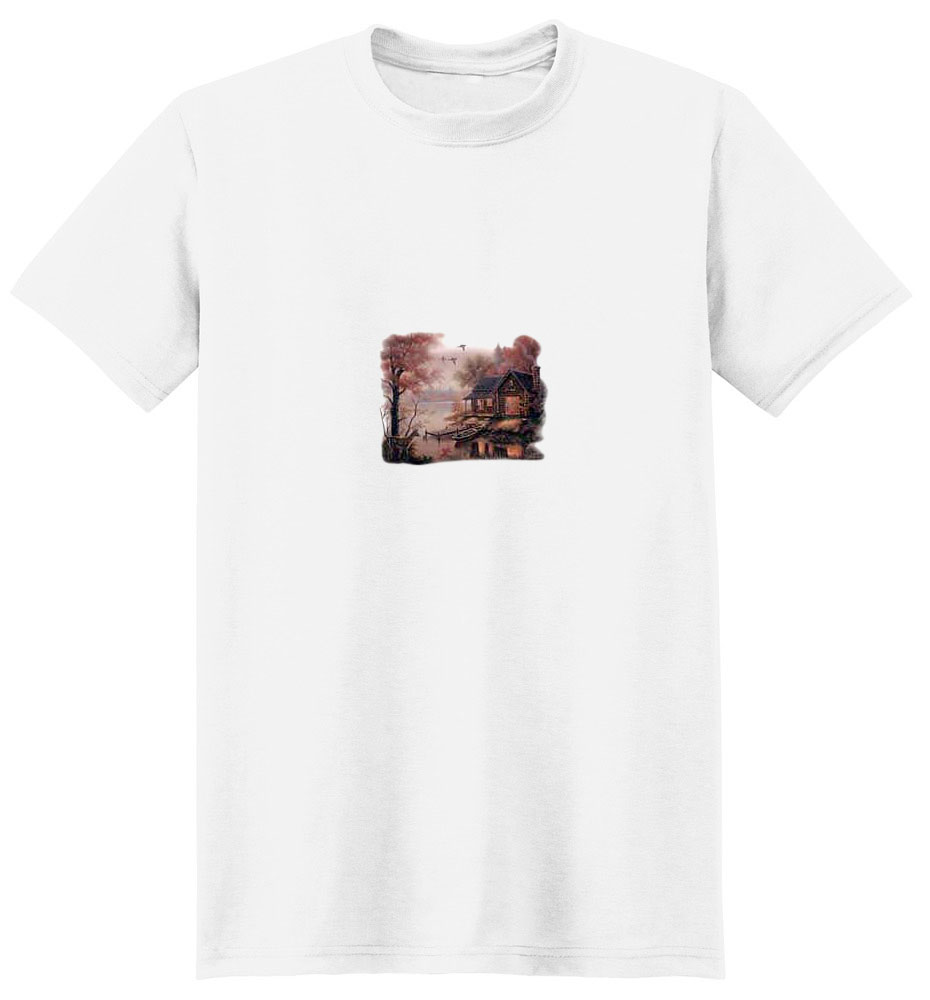 Deer T-Shirt - Rustic Peacefulness