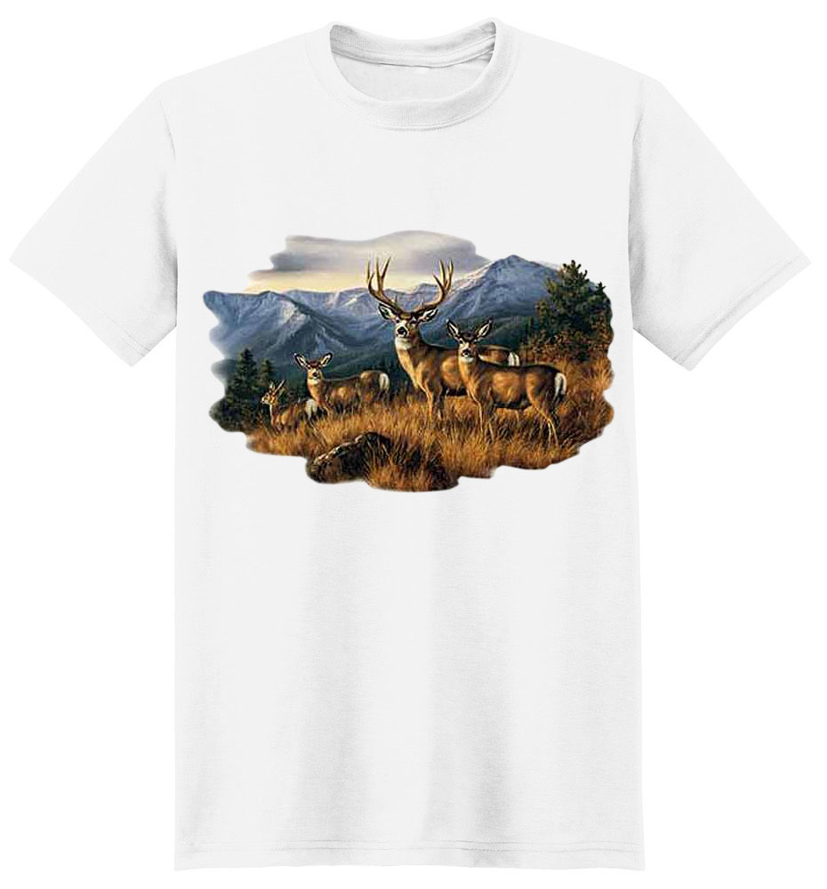 Deer T-Shirt - Tranquil Moment