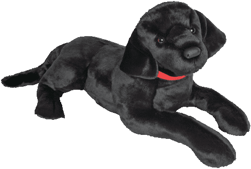 Dickens Black Labrador 32� Stuffed Plush Animal