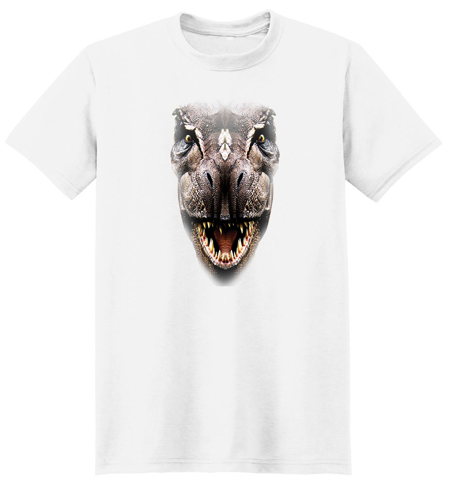 Dinosaur T Shirt Full Face