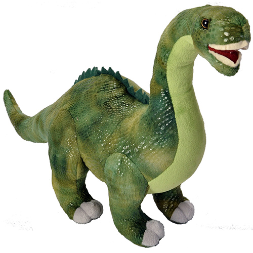Wild Republic Diplodocus Plush, Dinosaur Stuffed Animal,  Dinosauria 17