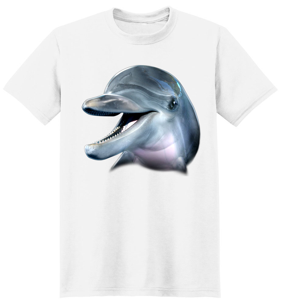 Dolphin T Shirt Full Face