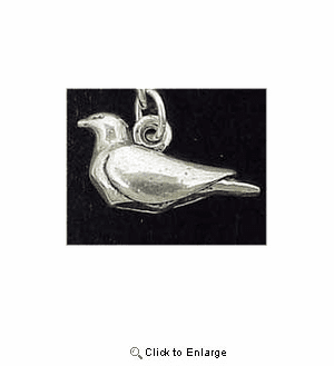 Dove Sterling Silver Charm